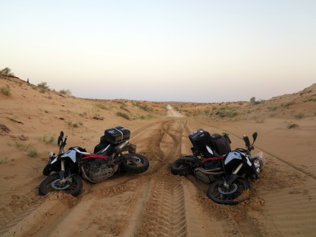 Accident in the dunes